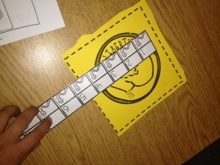 Printable Inch Worms to Measure