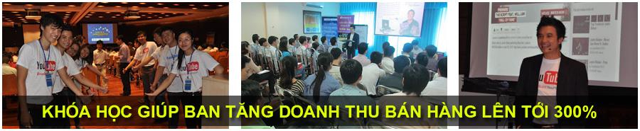 Khoá huấn luyện Internet Marketing 3h MIỄN PHÍ - Thúc đẩy doanh số bán hàng trực tuyến