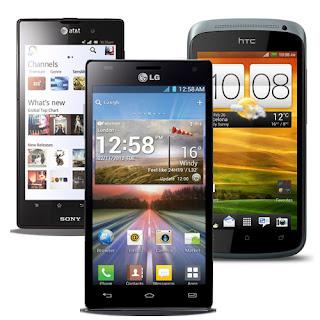 Daftar Harga Terbaru HP Android Agustus 2013
