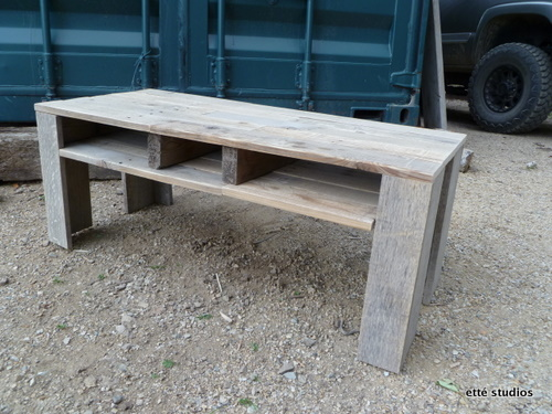 Ett Studios Shipping Pallet Coffee Table