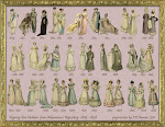41 Regency Fashion Plate Ladies from Ackermann's Repository by EKDuncan on deviantART.com