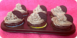 Egg Free Cookies and Cream Cupcakes