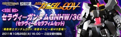 Robot Damashii Side MS Seravee Gundam GNHW/3G