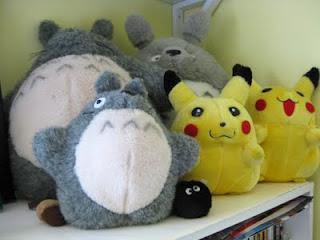 Pikachu and Totoro