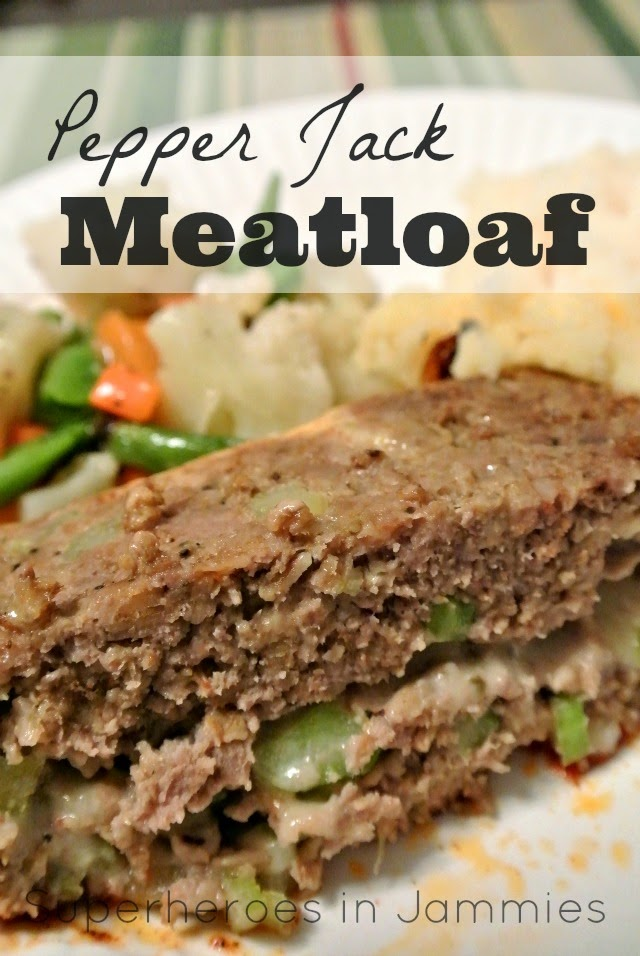 Pepper Jack Meatloaf