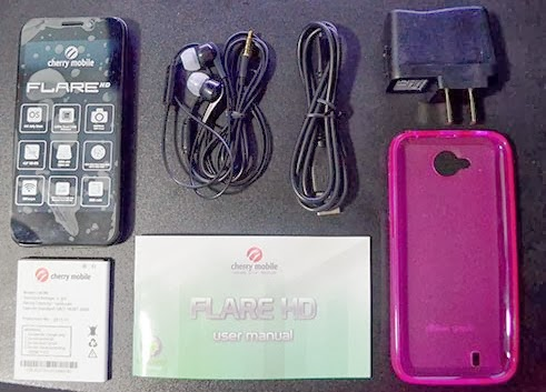 Flare HD Inside Box