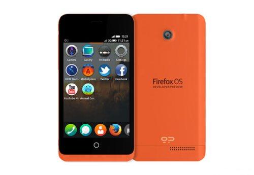 Smartphone fascia bassa con Firefox OS dedicato agli sviluppatori per test e nuovi programmi