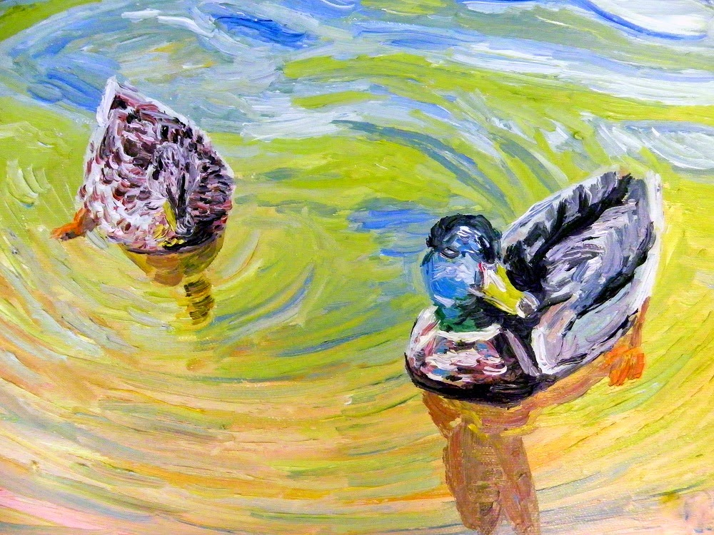 artist mairin egge art exhibit at green wolf's village barn shops in skippack