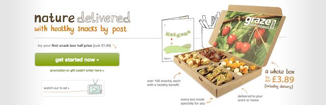 【好物分享】 Graze Box