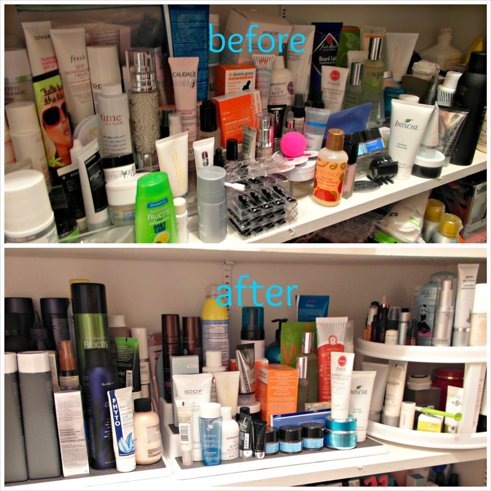 Cobbs Hill Beauty Product Storage Update