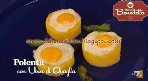 polenta con uova di quaglia: ricetta parodi da