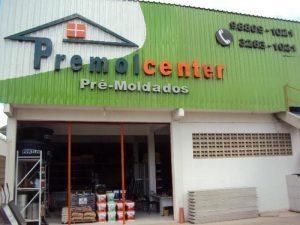 Em Sapé/PB, temos a Premolcenter, loja de pre-moldados e material para sua construção. Org. Neco