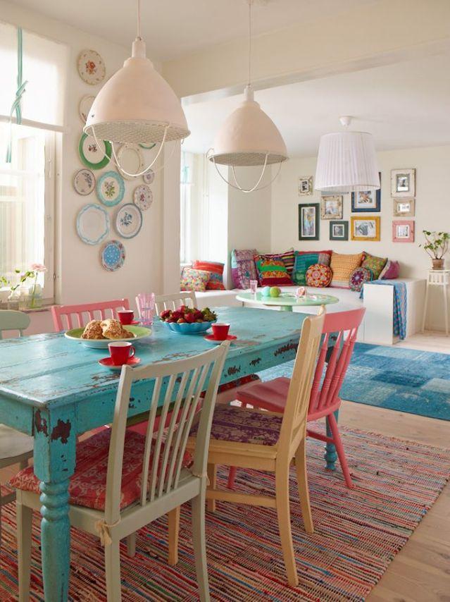 Comedores con sillas diferentes . La Garbatella: blog de ...