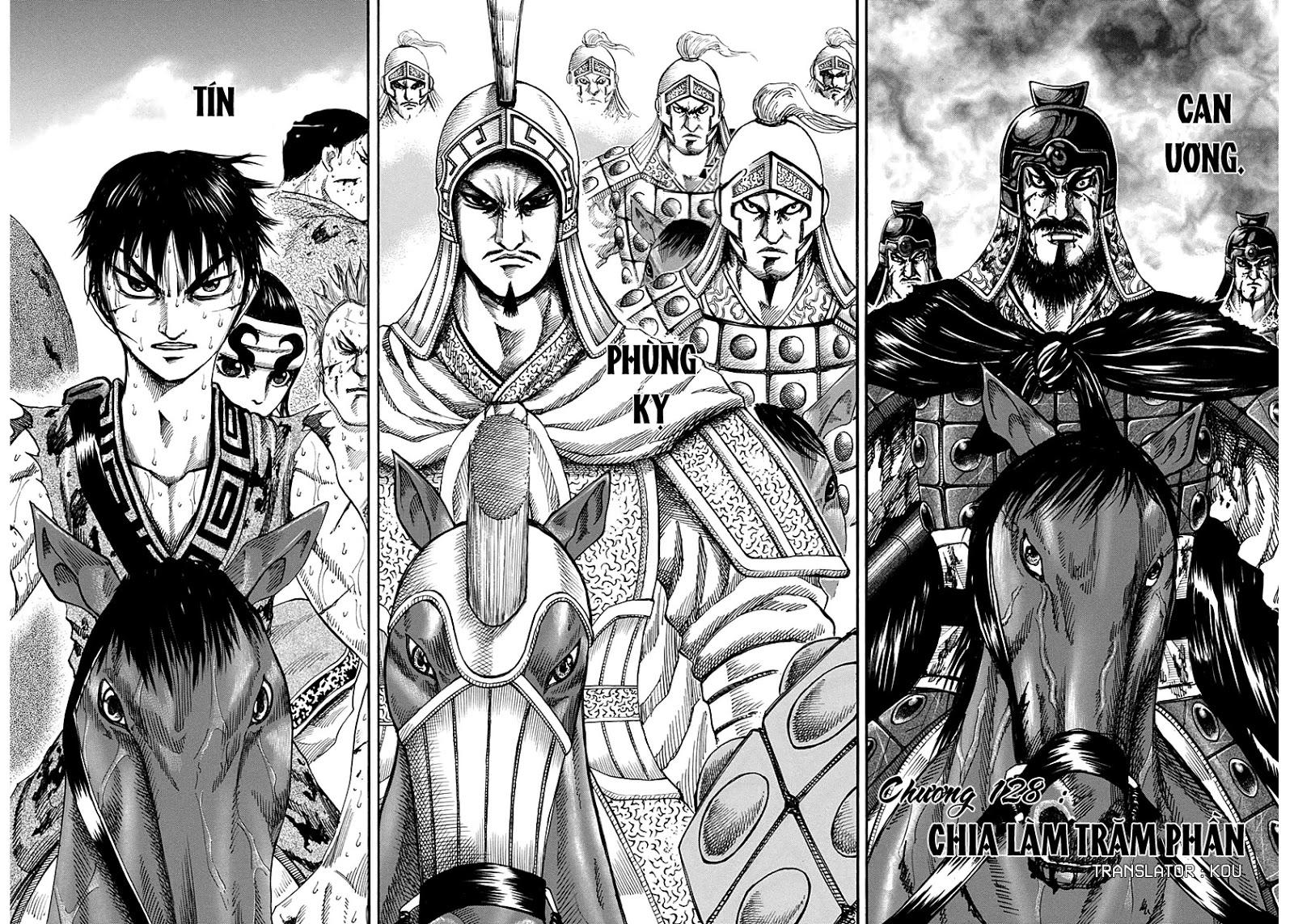 Kingdom – Vương Giả Thiên Hạ (Tổng Hợp) chap 128 page 3 - IZTruyenTranh.com