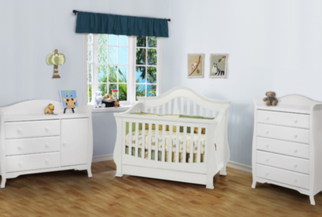 Unique Baby Boutiques Ashbury Crib By Million Dollar Baby