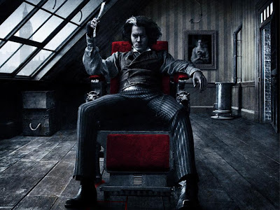 Tim Burton johnny depp sweeney todd