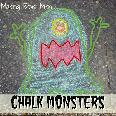 kids chalk activities