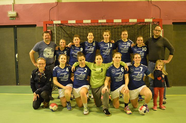 Entente port bayeux bessin handball seniors a f minines for Intersport cherbourg