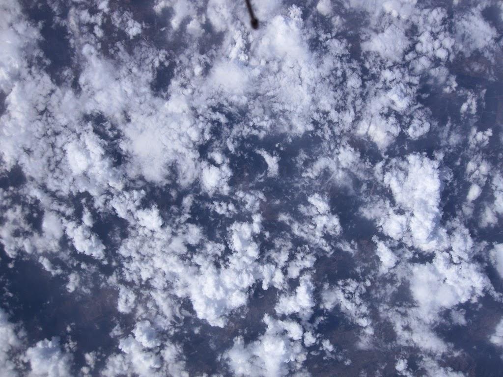 Widok ze stratosfery, balon stratosferyczny, stratosfera, Płaskowyż Kolbuszowski, Puszcza Sandomierska