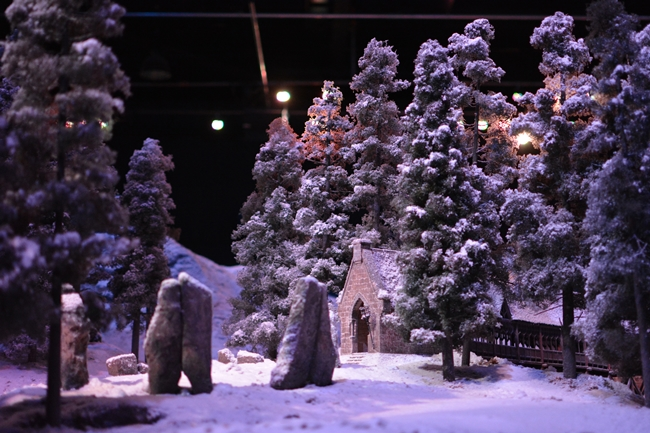 Hogwarts in the Snow Warner Bros Studio Tour London