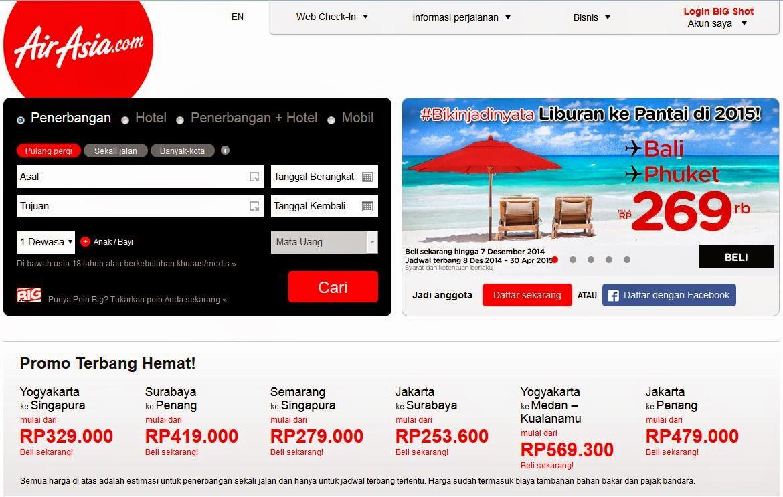 Promo Tiket Air Asia