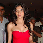 Simran kaur Mundi Super Hot Cleavage Show In Red Dress