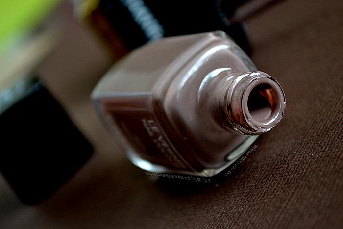Chanel Makeup Le Vernis Particuliere Nail Polish Color Lacquer Beauty Blog Reviews