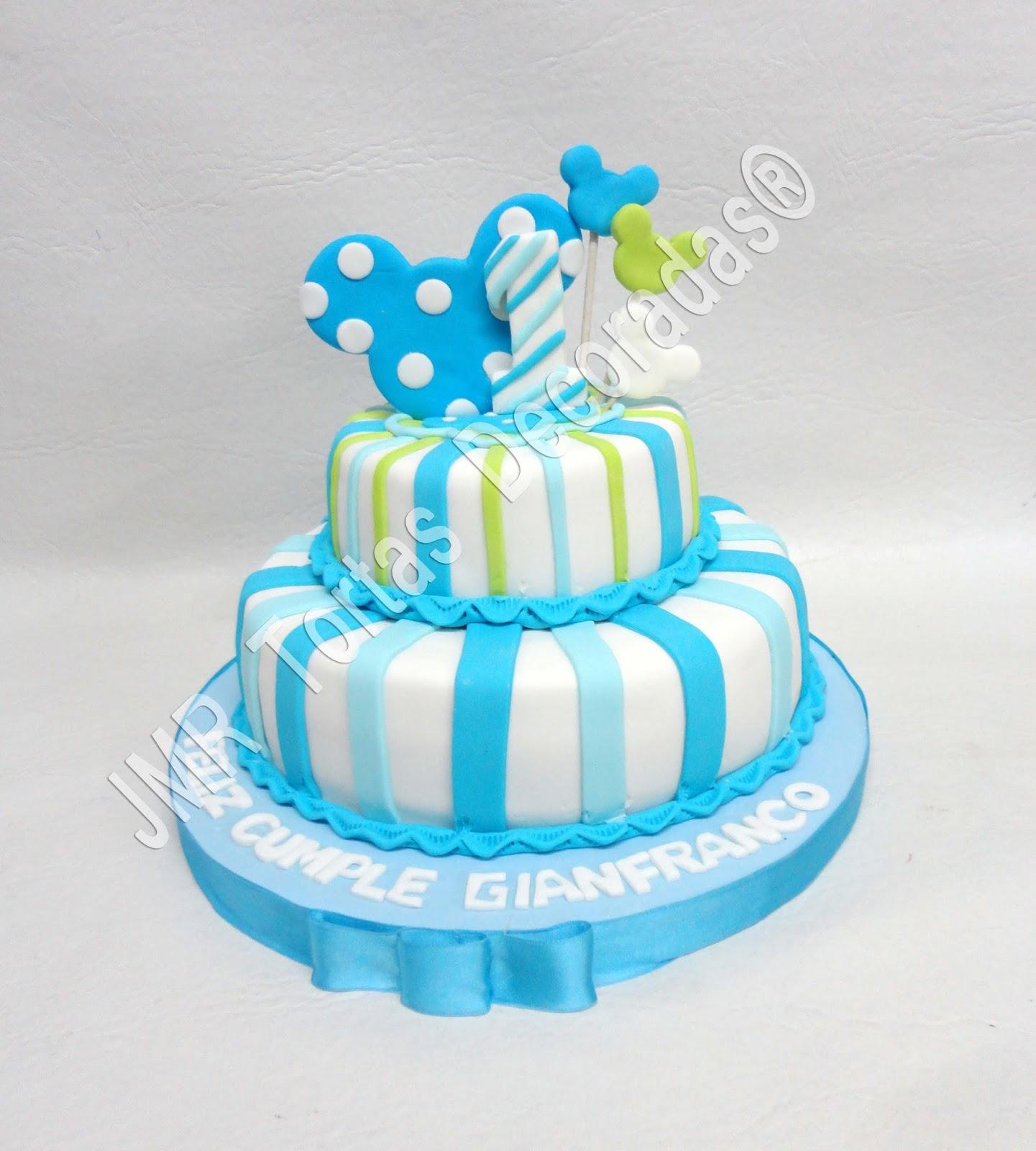 Torta Cupcakes y cookies Baby Mickey. Disney Babies | JMR Tortas ...