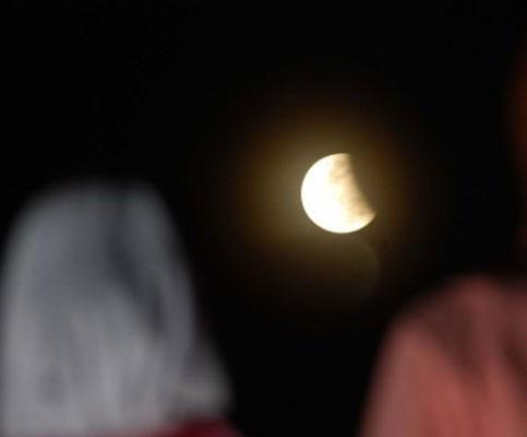 Foto Gerhana Bulan Sebagian (GBS) 4 Juni
