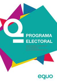Programa electoral elecciones generales 2011 equo
