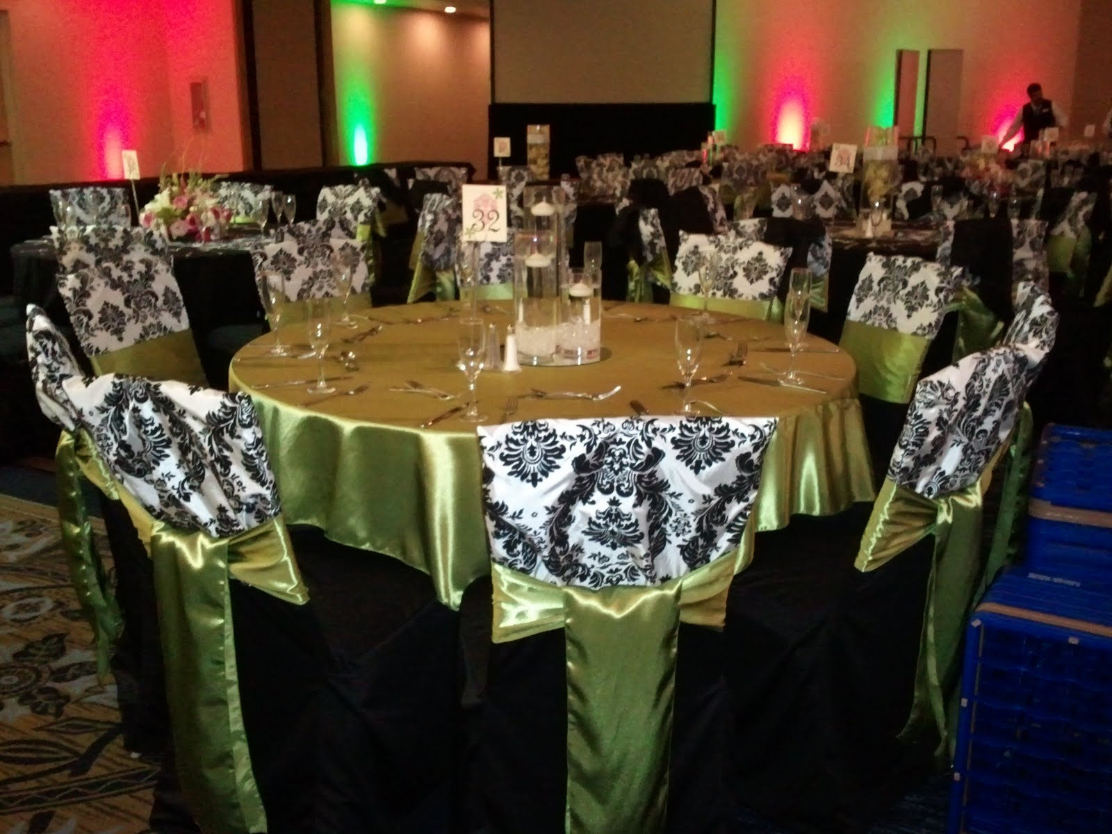 Orange County Wedding Chair Covers Rental Chair caps chair sleeves
