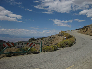 Steep grade along White Mountain Road, Eastern Sierras, California