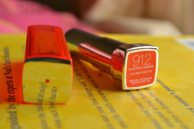 Maybelline Color Sensational in Electric Orange 912