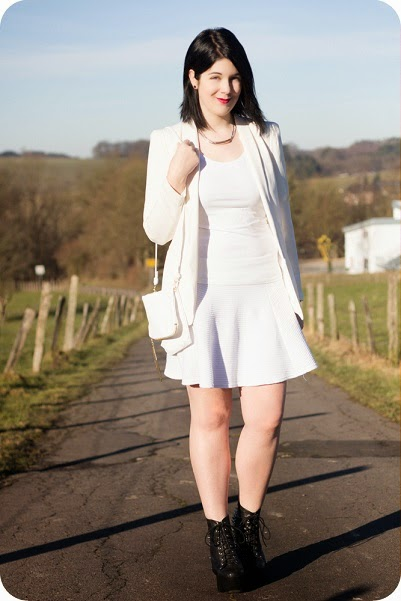 Heart and Soul for Fashion, Fashionblog, Stylediary, Modeblog, H&M, Jeffree Campbell, Trend, All White, Styling, Daily Look, OOTD, Outfit, Inspiration, Look, Lookbook, Fashion