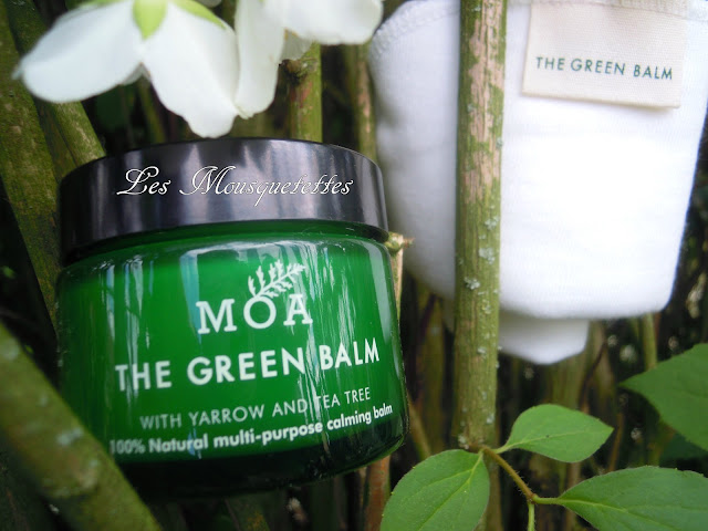 Daily Cleansing Ritual de Moa The Green Balm - Les Mousquetettes©