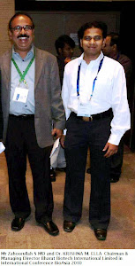 Mr Zahoorullah S MD and Dr. KRISHNA M. ELLA Chairman & Managing Director Bharat Biotech