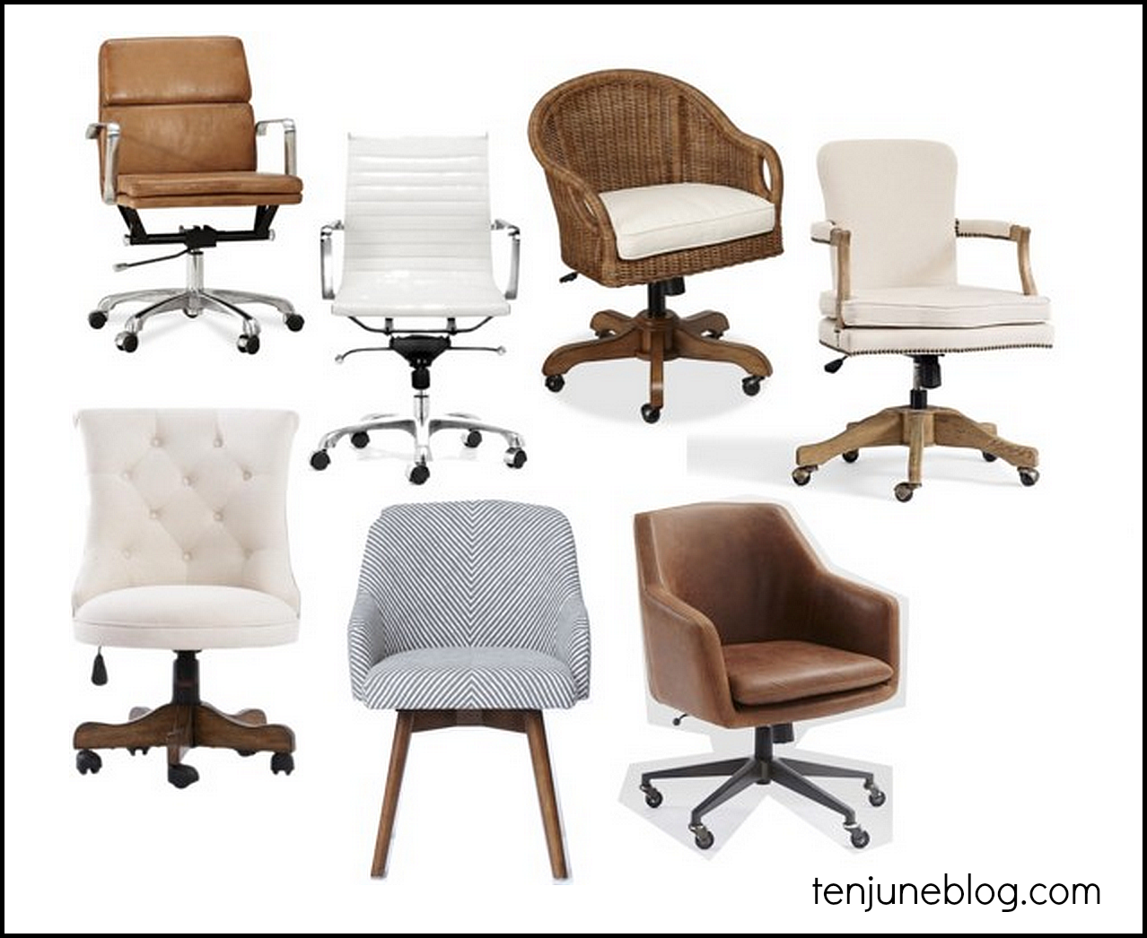 Ten June Office Chair Round Up Comfortable But Cute