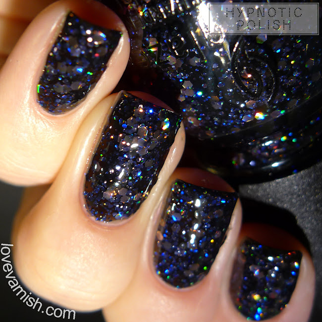 China Glaze Coal Hands, Warm Heart