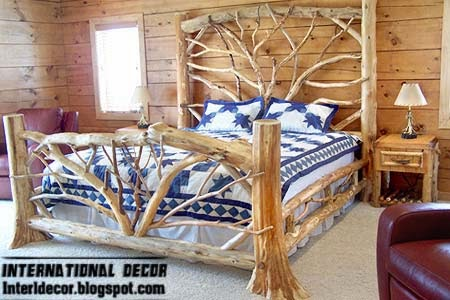 Branches Beds Designs For Bedroom In Country Style