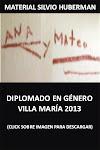 ANA Y MATEO - DIPLOMADO EN GENERO 2013 - Para ver click sobre imágen -