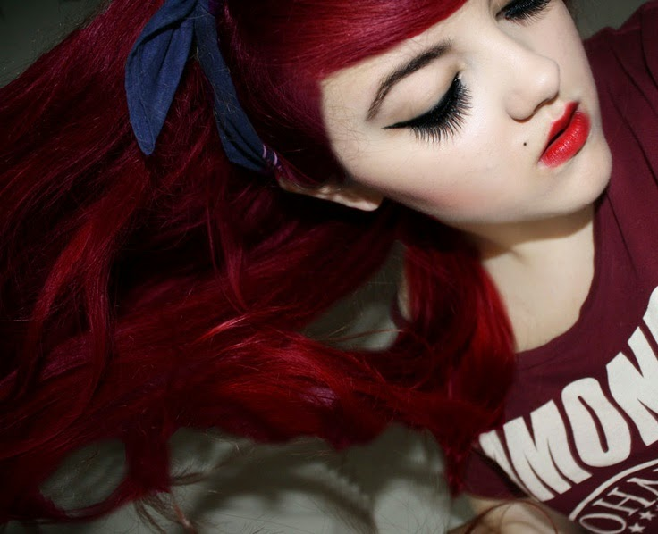 Cherry Bomb red hair