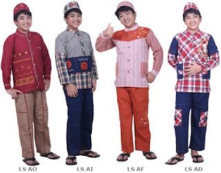 Model Baju Muslim anak Lelaki terbaru