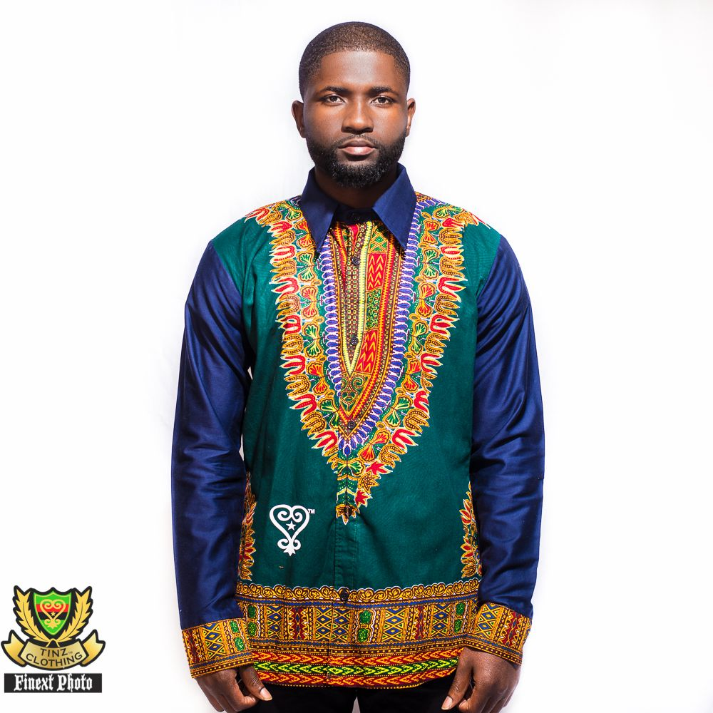 dashiki men s shirt kamos t shirt