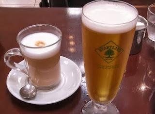 cerveza vs. café