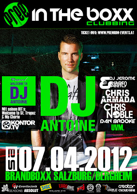 DJ Antoine Salzburg 2012 Ads Poster HD Wallpaper