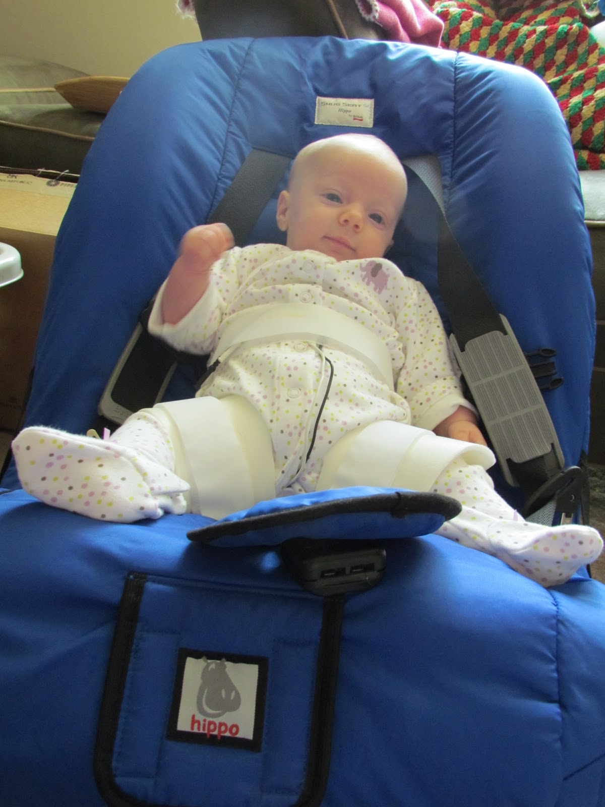 Re Seat For A Baby In Rhino Cruiser Brace