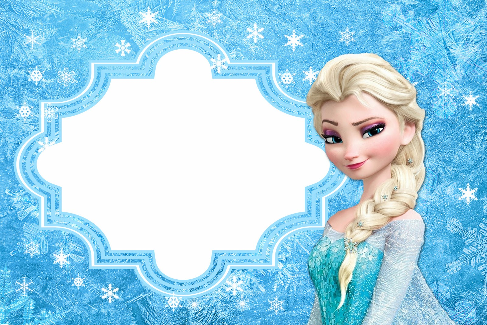 Frozen: Free Printable Cards or Party Invitations. | Is it for ...