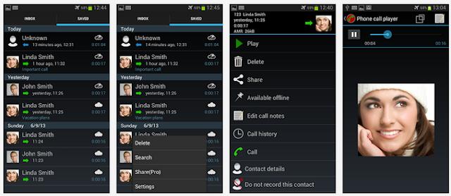 تطبيق مجانى لنظام أندرويد لتسجيل المكالمات تلقائياً Automatic Call Recorder 3-53-APK