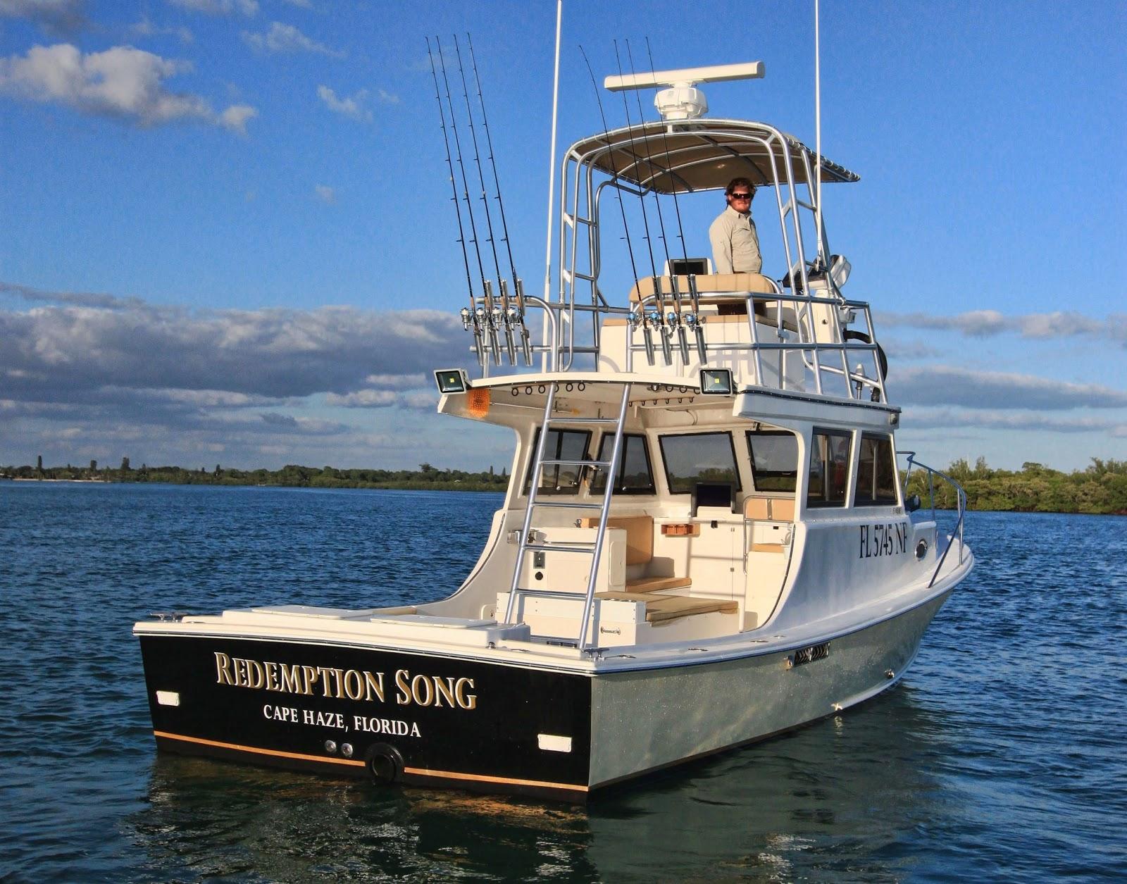 Team kipling fiskerejser til hele verden florida maj 2013 for Deep sea fishing boats for sale