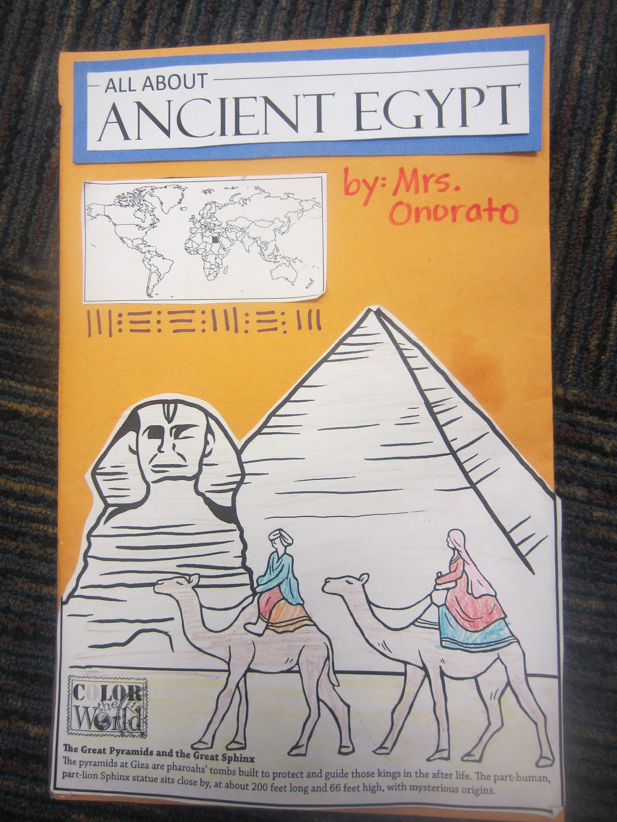 What topic of Ancient Egypt should I write about for my research paper?